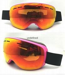 Ski goggle fashion protective UV400 goggles