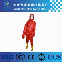 Good quality SOLAS approved Light Chemical Protective Suits