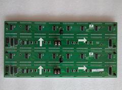 indoor single color/dual color led module panel p3 p3.75 p4 p4.75 p7.62 dmx