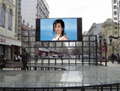 P10 outdoor full color led display screen video advertising led wall p5 p6 p8