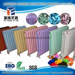 熱賣高光暖氣片噴塗粉末塗料