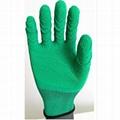 cheap latex coated glove made in china 1