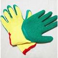 cheap latex coated glove made in china 2