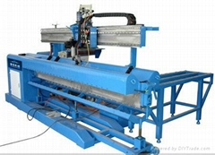 Longitudinal welding mac
