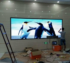 HD full color rgb color rental led display p4