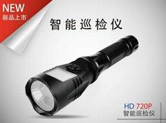 防爆智能巡檢儀強光帶屏攝錄手電筒
