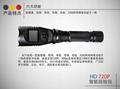 防爆智能巡檢儀強光帶屏攝錄手電筒 2