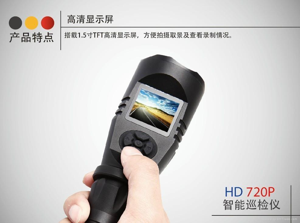 防爆智能巡檢儀強光帶屏攝錄手電筒 4
