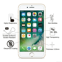 amFilm iPhone 7 Tempered Glass Screen Protector for Apple iPhone 7