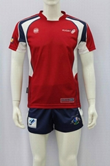 Custom sublimated rugby