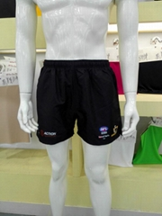Sublimation football soccer shorts uniforms