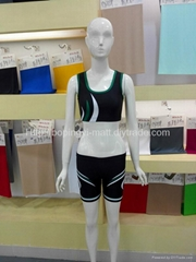Ladies sports gym crop singlet fitness