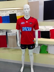 Custom wholesale football soccer team sublimation uniforms AFL jersey clothing