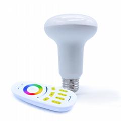 rgbw rgb led mushroom bulb,led globe ,led lamp, led indoor lighting  wifi bulb