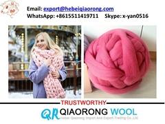 chunky merino wool yarn