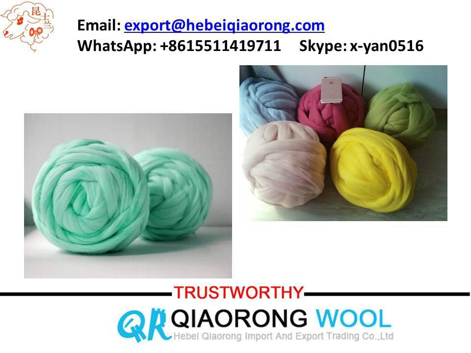 chunky merino wool yarn 2