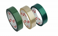 Green PET Tape silicone Tape for transformer motor insulation