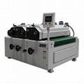 Three-Roller Coater for Woodworking