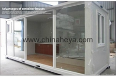HEYA 20' flat pack container simple house