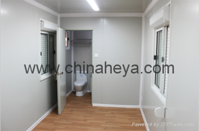 HEYA 20' flat pack container simple house 3