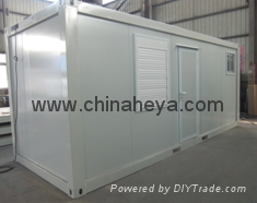 HEYA 20' flat pack container simple house 4