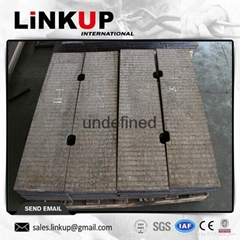 Clading hardfacing steel plate
