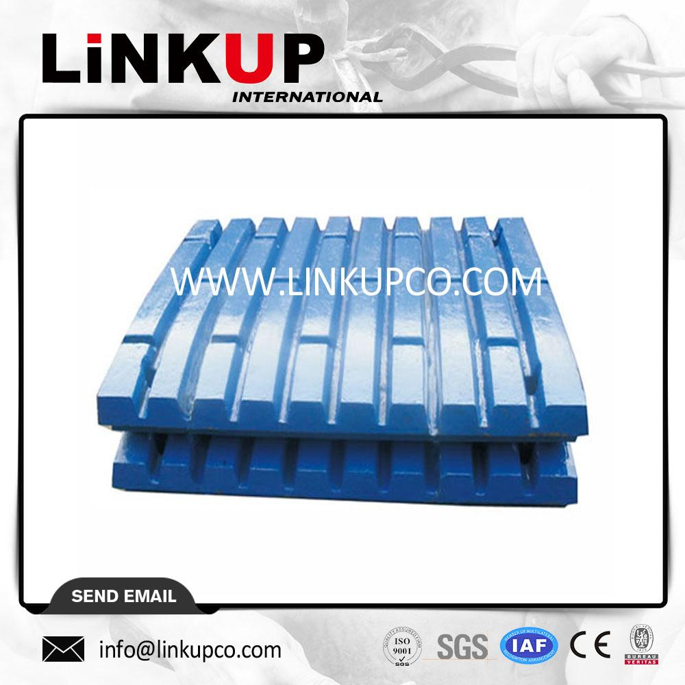 Jaw crusher wear parts jaw plate 1