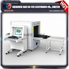 x ray generator baggage scanning machine , airport security scanners