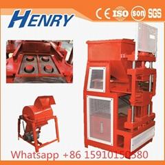 Hr2-10 Automatic Hydraulic Hollow Lego Interlocking Block Making Machine Clay Br
