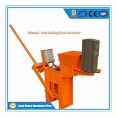 Blocks Interlocking Press Earth Us : Brick machine products concrete block forming