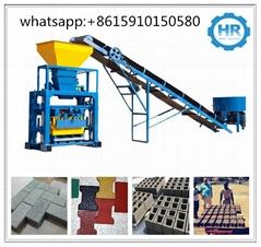 QT40-1 Small Concrete Hollow Block Macking Machine