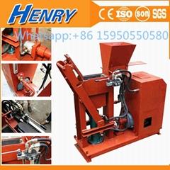 the most popular semi-automatic soil clay interlocking brick making machine