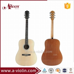Hot sale Spruce plywood top acoustic guitar (AF48)