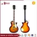 Solid Wood LP Style Electric Guitar