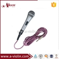 6 Meters Cable Moving-coil Uni-directivity Metal Wired Microphone ( AL-M80 )