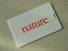 卡片U盤工廠批發定製雙面印刷LOGO電子禮品