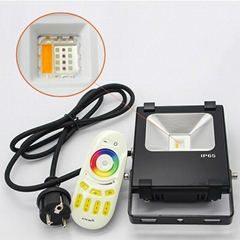 2.4G RF remote wifi control 10w Rgb rgbw Led Flood light