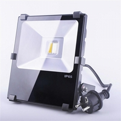 2.4G RF remote wifi control 30w Rgb Led Flood Light  IP65