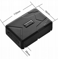 tkstar waterproof gps tracker locator with magnets tk915 10000mah