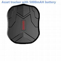 waterproof gps tracker locator with magnets 6 months standby time