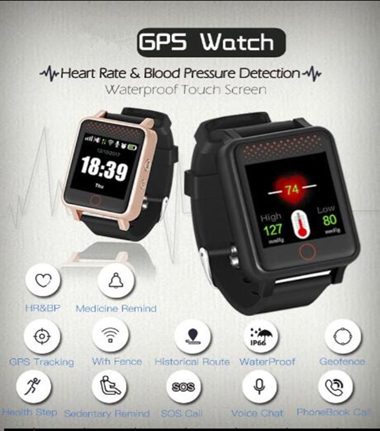 专用于老年痴呆症患者的 GPS 经纬度手表 1
