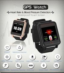 專用於老年癡呆症患者的 GPS 經緯度手錶