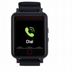 gps elderly alzheimer's watch smart SOS google map latitude longitude watch