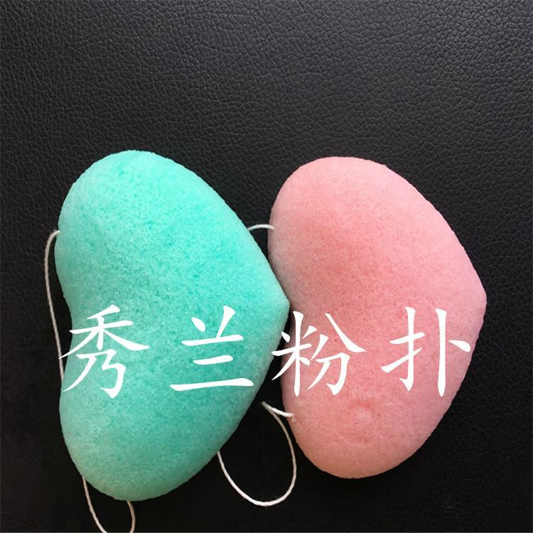 魔芋粉撲_質量與服務過硬,大量出口的廣州秀蘭魔芋粉撲廠家 3