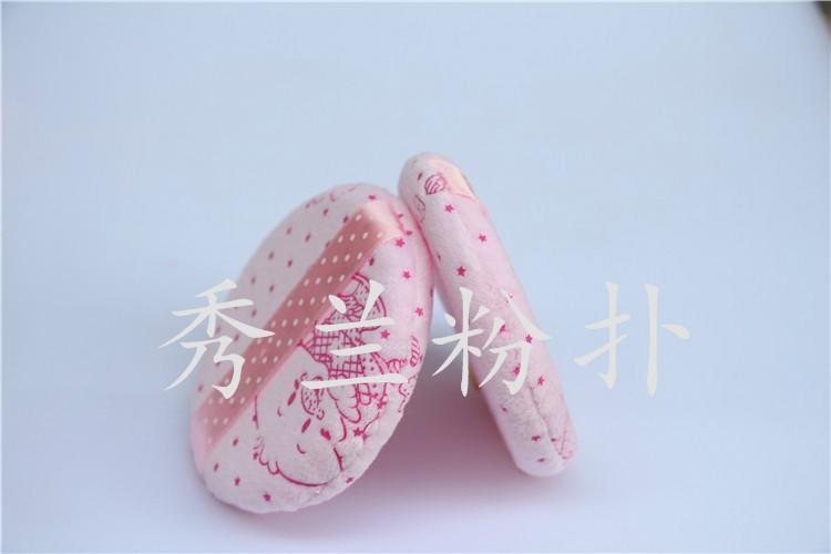 圓形粉撲批發採購找廣州秀蘭圓形粉撲廠家誠信標杆企業  2