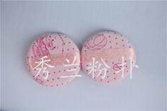 圓形粉撲批發採購找廣州秀蘭圓形粉撲廠家誠信標杆企業