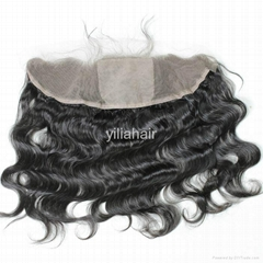 silk frontal human hair silk base frontal