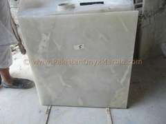 PURE WHITE ONYX TILES COLLECTION