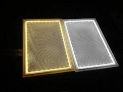 深圳LED雕刻激光打點發光導光板