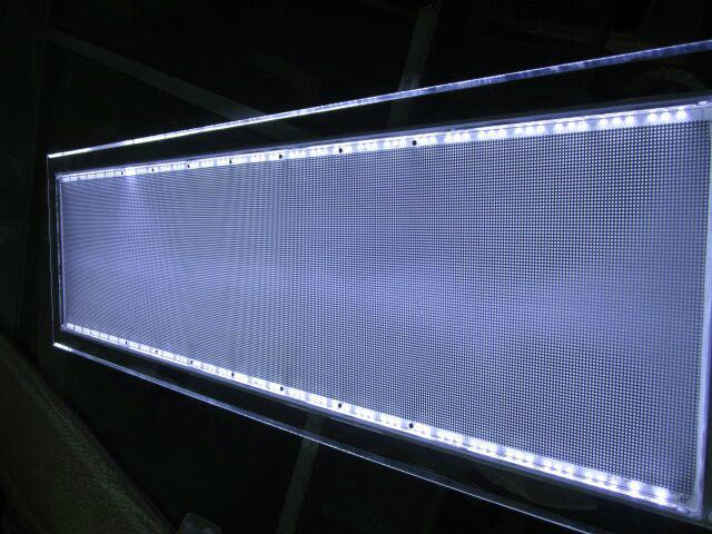 深圳LED雕刻激光打點發光導光板 2